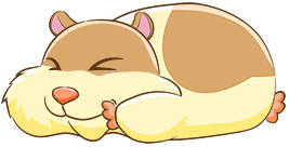 Sniffy (napping)