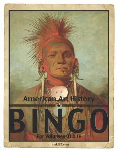 American Art History Bingo for Volumes III & IV 01