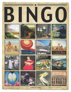 American Art History Bingo for Volumes III & IV 38