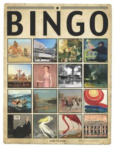 American Art History Bingo for Volumes III & IV 40