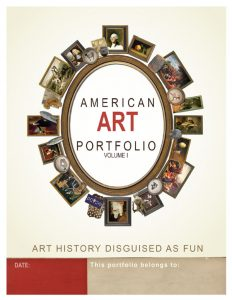 American Art Portfolio Cover Volume I