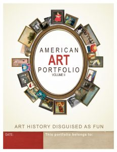 American Art Portfolio Cover Volume II