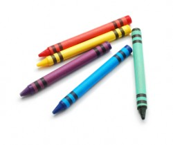 Five Crayons