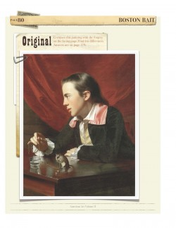 Forgery game from American Art Vol. II: the original