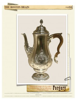 Forgery Paul Revere Coffee Pot