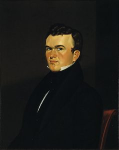 George Caleb Bingham, Self-Portrait of the Artist