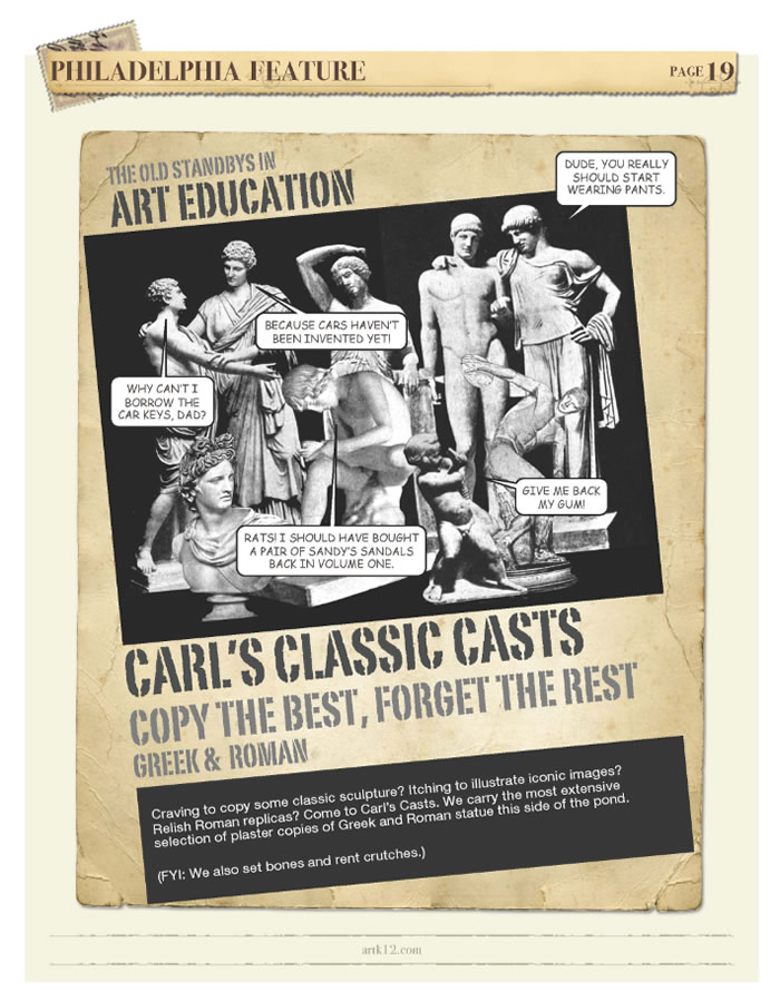 ARTK12 Art History Advertisement