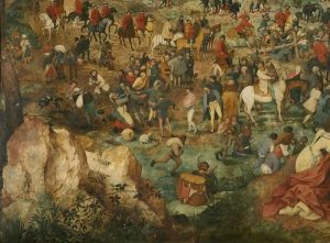The Procession to Calvary by Pieter Bruegel, Detail Eleven
