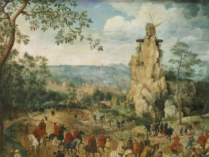 The Procession to Calvary by Pieter Bruegel, Detail Ten