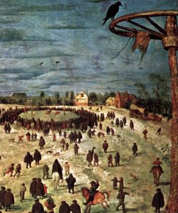 The Procession to Calvary by Pieter Bruegel, Detail Five