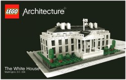 Lego White House Instruction Book: Architecture Series