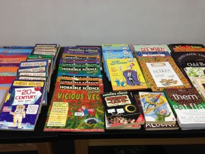 Lots of fun educational books, lots and lots