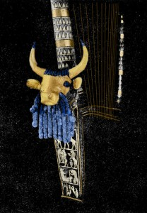 Golden Bull Lyre