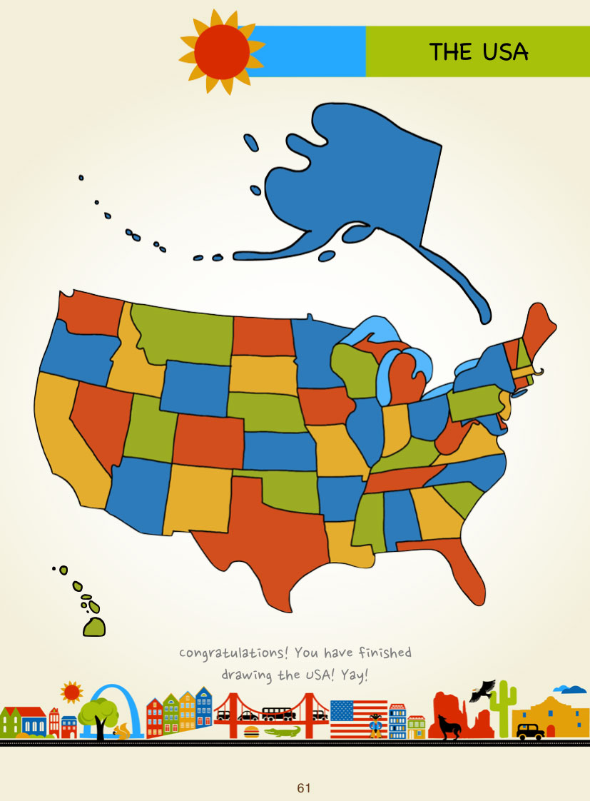 draw the usa by kristin j draeger page 61