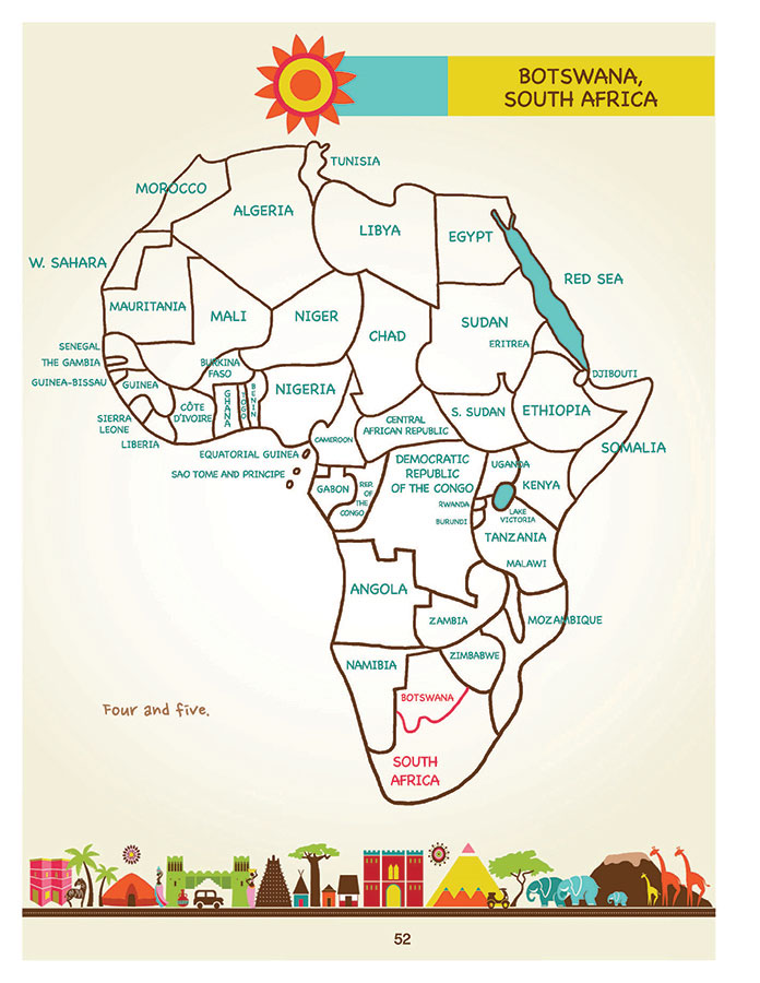 Draw africa an easy step by step approach artk12 draw africa by kristin j draeger page 52 ccuart Choice Image