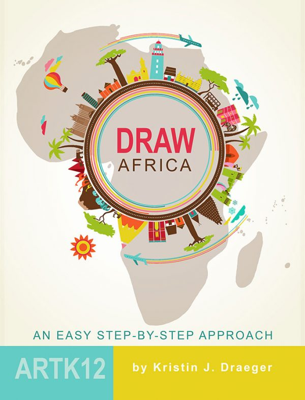 Draw Africa: an easy step-by-step approach