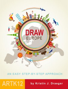 Draw Europe by Kristin Draeger, Cover