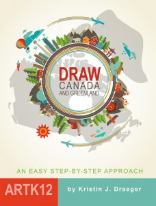 Draw Canada and Greenland Book Cover