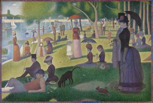 A Sunday Afternoon on the Island of La Grande Jatte by George-Pierre Seurat