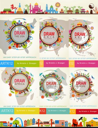 All six of ARTK12s Draw Series