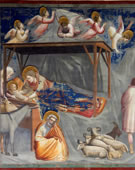 Nativity: Birth of Jesus, 1304 - 1306, Fresco, 200 cm (78.7 in) x 185 cm (72.8 in)