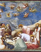 Lamentation (The Mourning of Christ), 1304 - 1306, Fresco, 200 cm (78.7 in) x 185 cm (72.8 in)