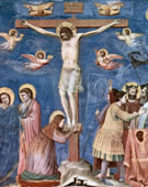 Crucifixion, 1304 -1306, Fresco, 200 cm (78.7 in) x 185 cm (72.8 in).