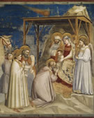 The Adoration of the Magi, 1304 - 1306, Fresco, 200 cm (78.7 in) x 185 cm (72.8 in)