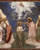 Baptism of Christ, 1304 - 1306, Fresco, 200 cm (78.7 in) x 185 cm (72.8 in)