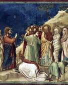 Raising of Lazarus, 1304 - 1306, Fresco, 200 cm (78.7 in) x 185 cm (72.8 in)