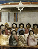 Last Supper, 1304 - 1306, Fresco, 200 cm (78.7 in) x 185 cm (72.8 in)