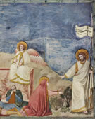 Resurrection, 1304 - 1306, Fresco, 200 cm (78.7 in) x 185 cm (72.8 in)