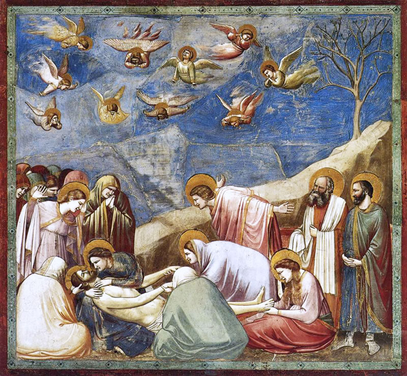 Lamentation (The Mourning of Christ)1304 - 1306Fresco200 cm (78.7 in) x 185 cm (72.8 in)