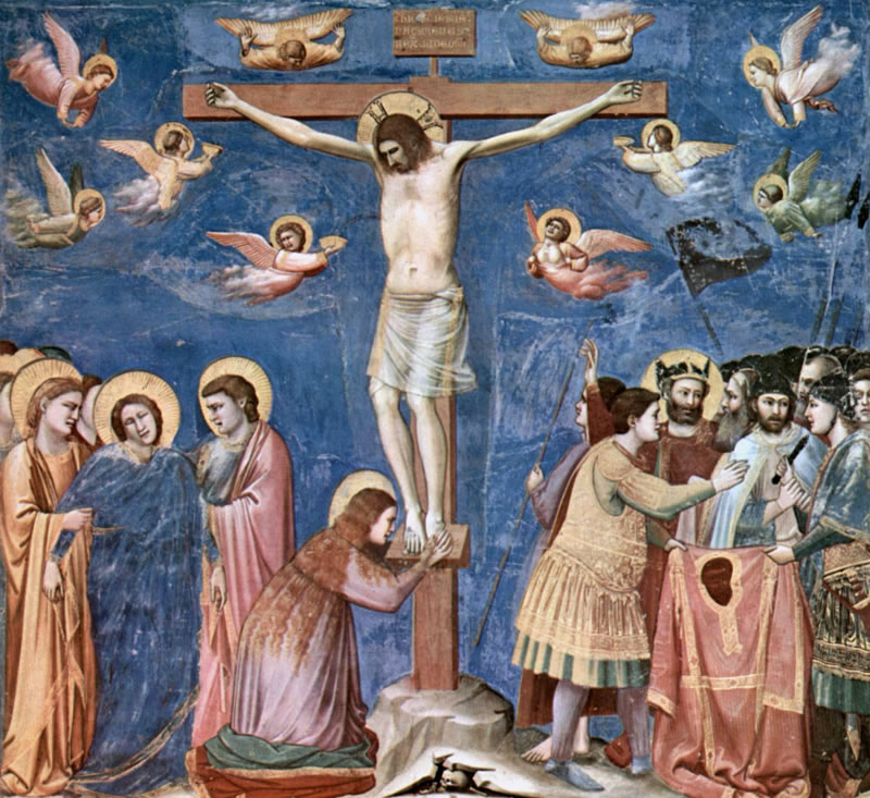 Crucifixion1304 -1306Fresco200 cm (78.7 in) x 185 cm (72.8 in).