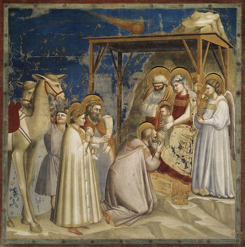 The Adoration of the Magi1304 - 1306Fresco200 cm (78.7 in) x 185 cm (72.8 in)