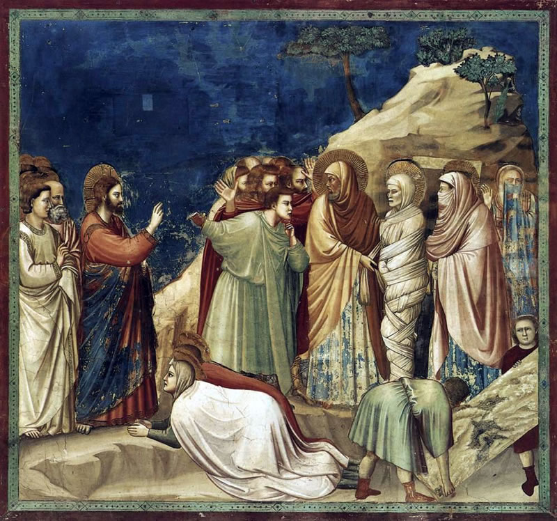 Raising of Lazarus1304 - 1306Fresco200 cm (78.7 in) x 185 cm (72.8 in)