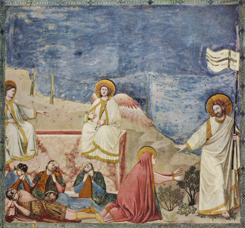 Resurrection1304 - 1306Fresco200 cm (78.7 in) x 185 cm (72.8 in)