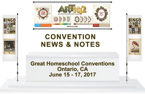 Covention News & Notes: Great Homeschool Conventions. Ontario, CA. June 15 - 17, 2017.