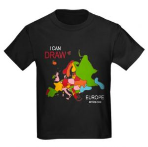 I Can Draw the Europe T-Shirt
