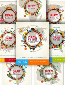 Draw Map Set by Kristin J. Draeger