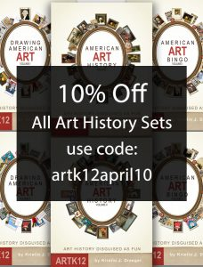 10% Off All Art History Sets. Use code: artk12april10
