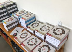 Lots of ARTK12 books for the Great Homeschool Convention in Ontario, CA