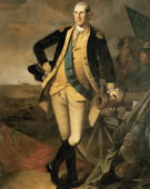 Charles Willson Peale, 1741-1827, George Washington at Princeton, 1779, Oil on canvas, 93 x 58.5 in.