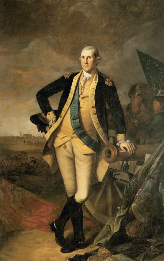 Charles Willson Peale1741-1827George Washington at Princeton1779Oil on canvas93 x 58.5 in.