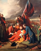 Benjamin West, 1738-1820, The Death of General Wolfe, 1770, Oil on canvas, 59 x 84 in.