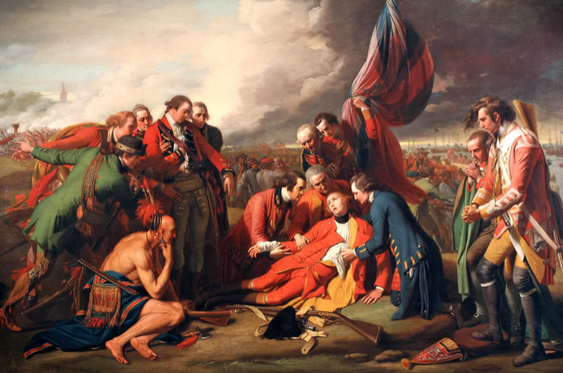 Benjamin West1738-1820The Death of General Wolfe1770Oil on canvas59 x 84 in.