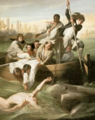 John Singleton Copley, 1738-1815, Watson and the Shark, 1778, Oil on canvas, 72 x 90.25 in.