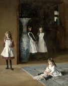 John Singer Sargent, 1856-1925, The Daughters of Edward Darley Boit, 1882, Oil on canvas, 87 3/8 x 87 5/8 in.