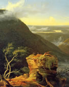 Thomas Cole,   Sunny Morning on the Hudson River,   1827,   Oil on panel,   64.45 x 47.31 cm.
