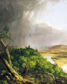 Thomas Cole, The Oxbow, (The Connecticut River Near Northampton), 1836, Oil on canvas, 193 x 130.8 cm.